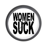 Women Suck Wall Clock