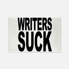 Writers Suck Rectangle Magnet