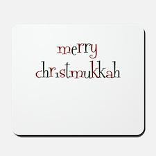 merry christmukkah Mousepad