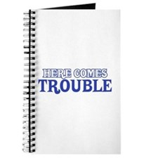 Unique Here comes trouble Journal