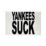 Yankees Suck Rectangle Magnet