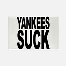 Yankees Suck Rectangle Magnet
