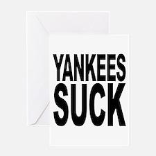 Yankees Suck Greeting Card