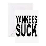 Yankees Suck Greeting Cards (Pk of 10)