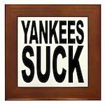 Yankees Suck Framed Tile