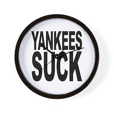 Yankees Suck Wall Clock