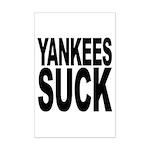 Yankees Suck Mini Poster Print