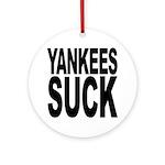 Yankees Suck Ornament (Round)