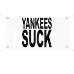 Yankees Suck Banner