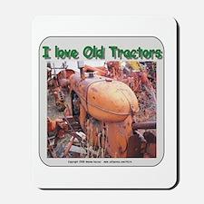 I love old AC tractors Mousepad