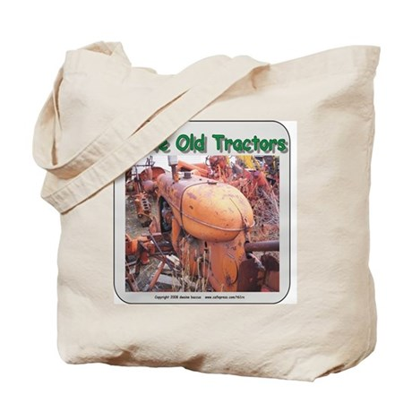 I love old AC tractors Tote Bag