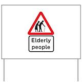 Elderly people Yard Signs