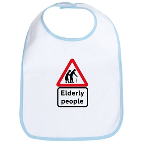Elderly People, UK Bib
