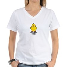 Biology Chick Shirt