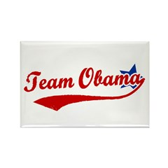 Team Obama Rectangle Magnet (10 pack)