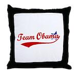 Team Obama Throw Pillow