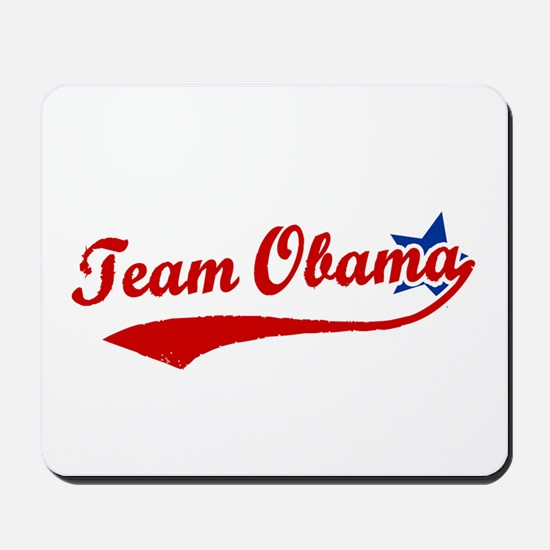 Team Obama Mousepad