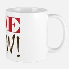 """Code Brown!"" On Front of Mug"