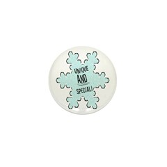 Special Snowflake Mini Button (10 pack)