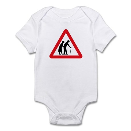 Elderly People, UK Infant Bodysuit
