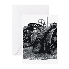 Old Tractors Greeting Cards (Pk of 10)