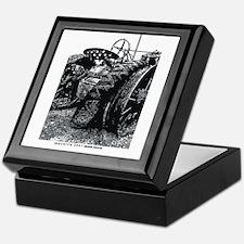 Old Tractors Keepsake Box