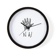 NA! Wall Clock