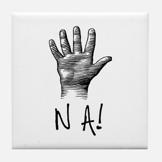 NA! Tile Coaster