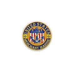 Merchant Marine Mason Mini Button (100 pack)