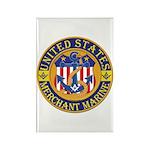 Merchant Marine Mason Rectangle Magnet (100 pack)