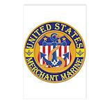 Merchant Marine Mason Postcards (Package of 8)