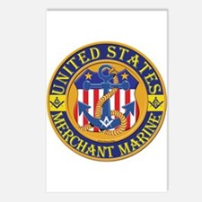 Merchant Marine Mason Postcards (Package of 8)
