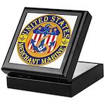 Merchant Marine Mason Keepsake Box