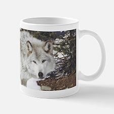 Solo Grey Wolf Mug