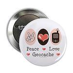 Peace Love Geocache 2.25