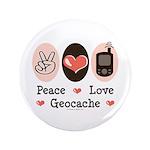 Peace Love Geocache Geocaching 3.5