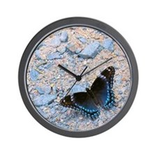 BLUE SWALLOWTAIL Wall Clock