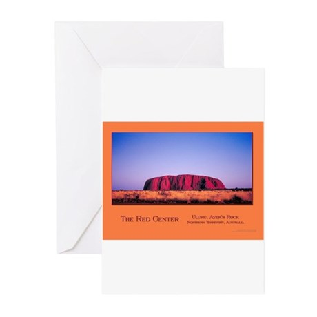 Deepening Red Greeting Cards (Pk of 20)