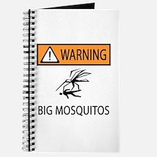 Warning Big Mosquitos Journal