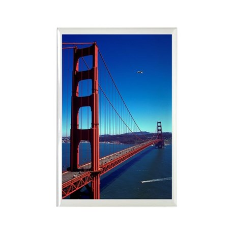 Golden Gate Bridge Rectangle Magnet (100 pack)