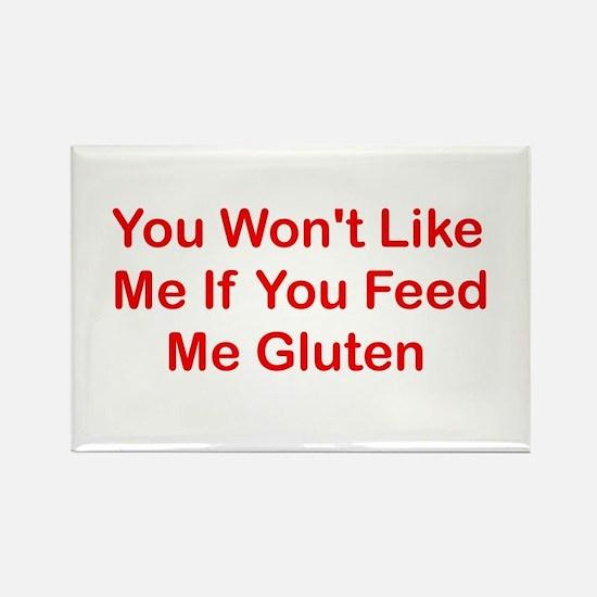 Won't Like Me - Gluten Rectangle Magnet