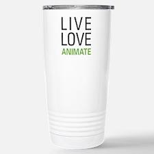 Live Love Animate Travel Mug
