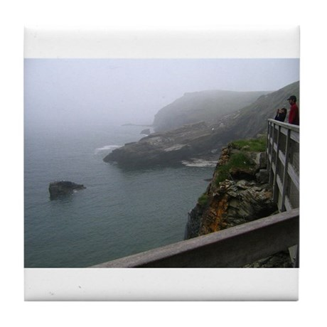 Tintagel Tile Coaster