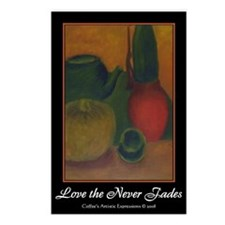 Love that Never Fades Postcards (Package of 8)