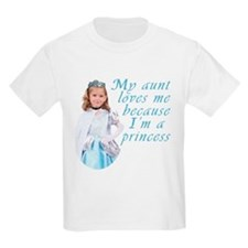 Aunt Loves Princess T-Shirt