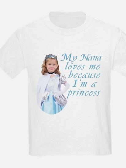 Nana loves little girl T-Shirt