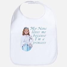 Nana loves little girl Bib