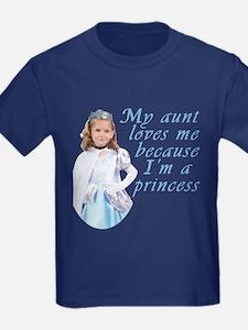 Aunt Princess Little Girl Dark T-Shirt