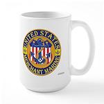 Merchant Marine Mason Large Mug