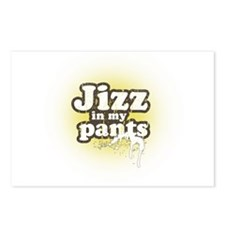 JIZZ IN MY PANTS Postcards (Package of 8)